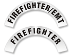 Rocker Fire Helmet Labels