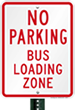 No Parking – Bus Zone