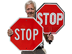 Stop Signs – all Sizes and Materials