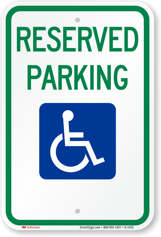 Free parking signs professional no parking sign pdf 39 s for Handicap parking sign template