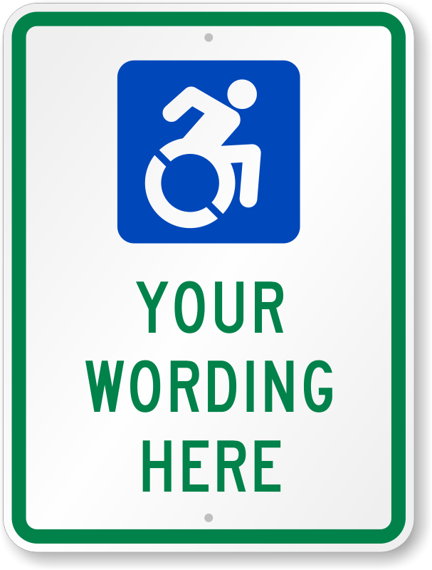 updated accessibility signs isa signs