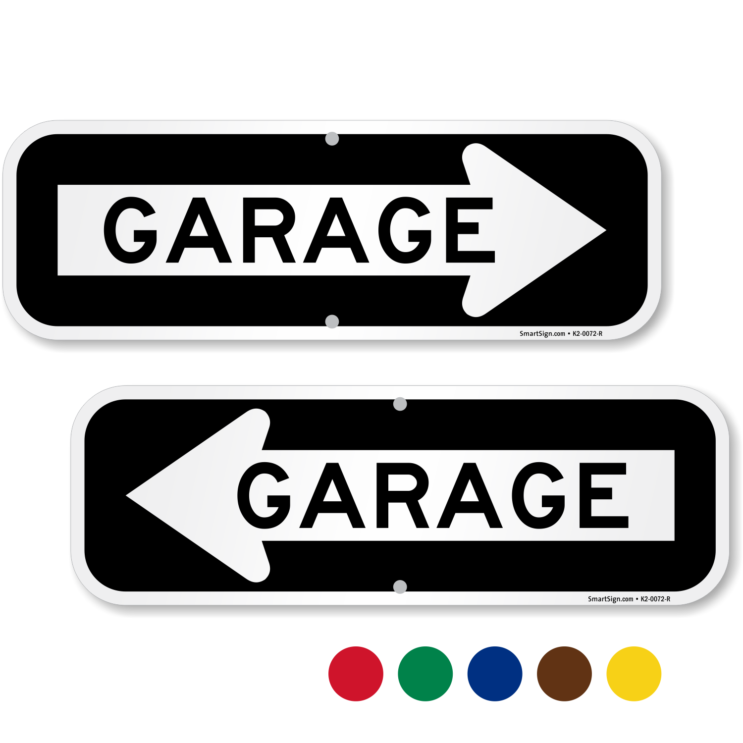 Parking garage signs garage directional signs for Plaque w garage assurance
