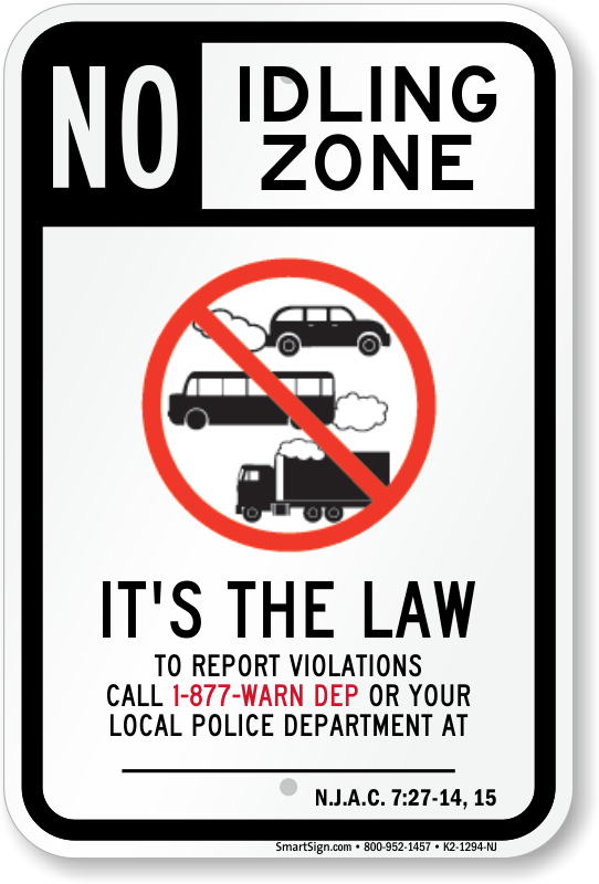 New Jersey Parking Signs Fire Lane Signs Amp Other