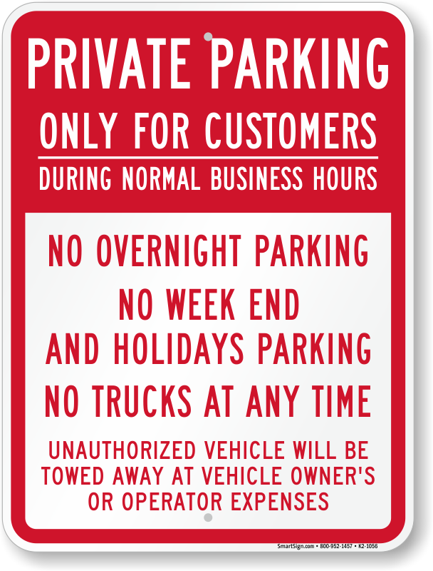 Stock Signs | Kalispell Copy Center