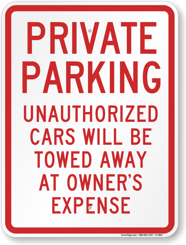 Can Car Be Towed From Private Property