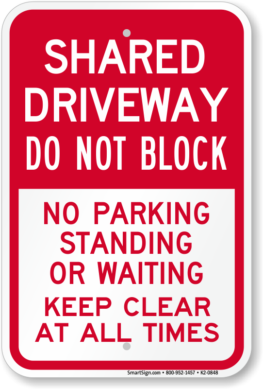 No Stopping Signs No Standing Signs Myparkingsign Com