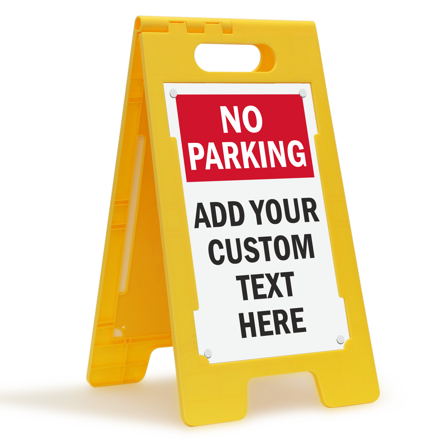 Parking Sign Stands Custom Parking Standing Floor Signs