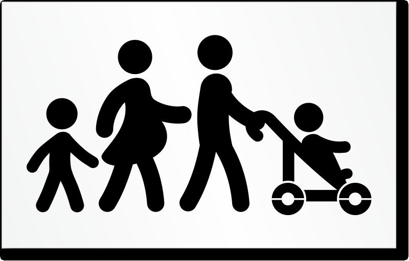 Family Parking Symbol Stencil Sku St 2020