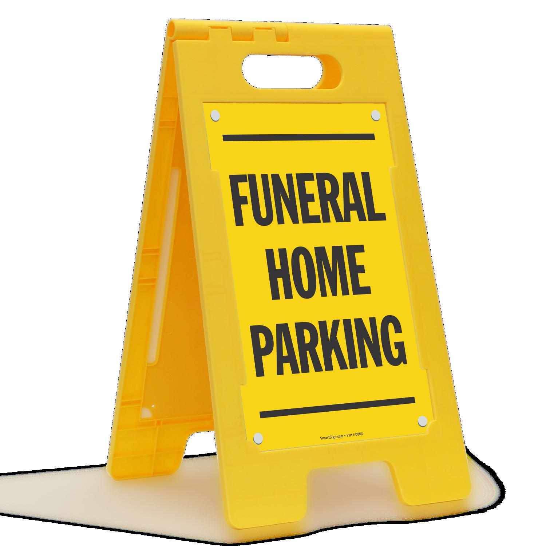 Parking Sign Stands Custom Parking Standing Floor Signs