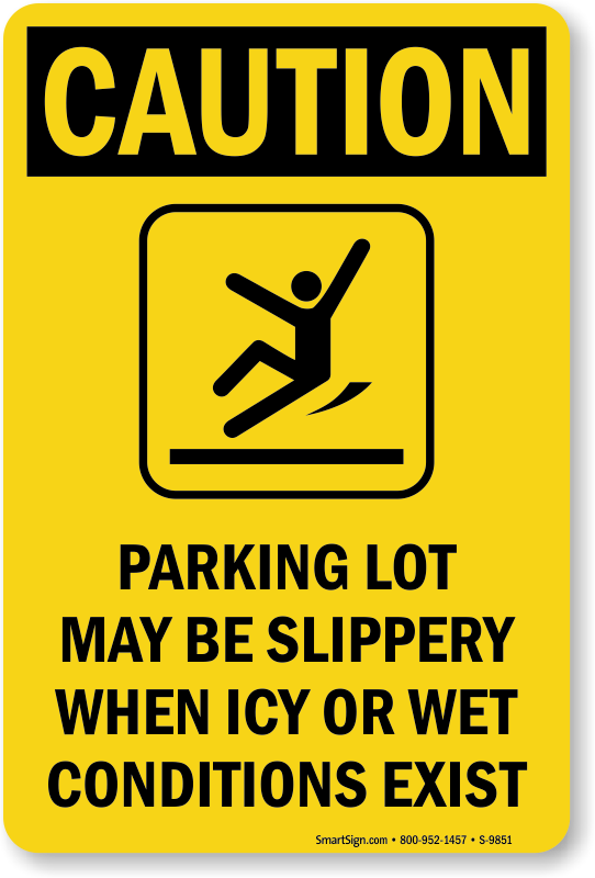 Ice Alert Signs Watch Out For Ice Signs Ice Warning Signs
