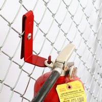 Fire Extinguisher Fence Bracket