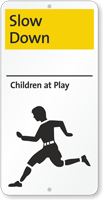 Slow Down, Children At Play iParking Sign