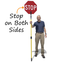 Crossing Guard Stop Sign Pole