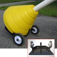 Recycled Rubber Sign Base Mover