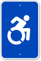 Accessible Symbol Sign (With Graphic)