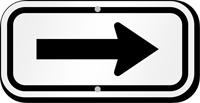 Arrow Aluminum Arrow Sign