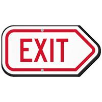 Arrow Exit Sign