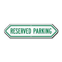 Bi-Directional Reserved Parking Sign