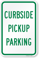 Curbside Pickup Parking