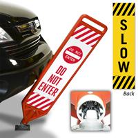 Do Not Enter Flexpost Paddle Sign Kit