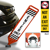Enter Only Flexpost Paddle Sign Kit