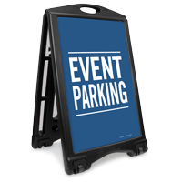 Event Parking Portable Sidewalk Sign