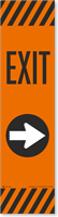 Exit Right Arrow Decal Decal FlexPost Paddle
