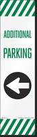 FlexPost Additional Parking Left Arrow Decal