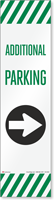FlexPost Additional Parking Right Arrow Decal