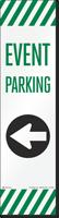 FlexPost Event Parking Left Arrow Decal
