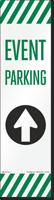 FlexPost Event Parking Straight Arrow Decal