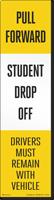 FlexPost Pull Forward Drop Off Decal