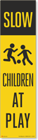 FlexPost Slow Children At Play Decal