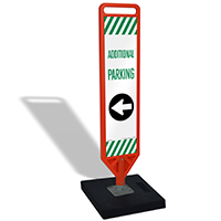 Additional Parking Left Arrow Portable FlexPost