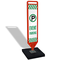 FlexPost Event Parking Paddle Portable