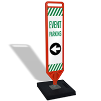 FlexPost Event Parking Left Arrow Paddle Portable