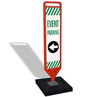 FlexPost Event Parking Left Arrow Paddle Portable
