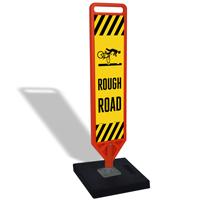 FlexPost Rough Road Portable Base Paddle Sign Kit