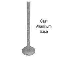 Lightweight Aluminum Sign base