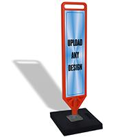 Portable FlexPost Paddle Sign Kit