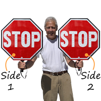 LED Stop Sign Paddle