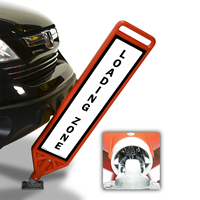Loading Zone With Symbol FlexPost Paddle Sign Kit