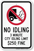 State Idle Sign for Chicago, Illinois