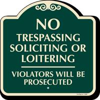No Overnight Parking Violators Vehicles Towed Away SignatureSign