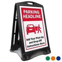 Parking Headline BigBoss Portable Custom Sidewalk Sign
