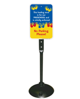 Loading Zone For Preschool Sign Post Kit