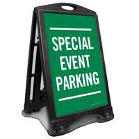 Special Event Parking Sidewalk Sign