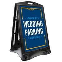 Wedding Parking Portable Sidewalk Sign