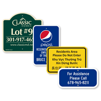 Custom Parking Signs Quoter