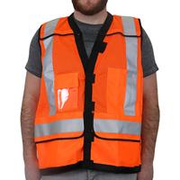 Reflective Safety Vest Orange